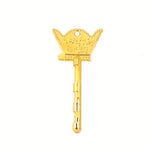 23k Gold-Plated Handcrafted Magic Keys