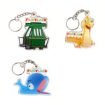 Fairyland Favorites keychains