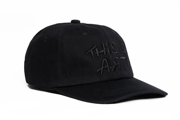 THE LOGO Hat Blackout