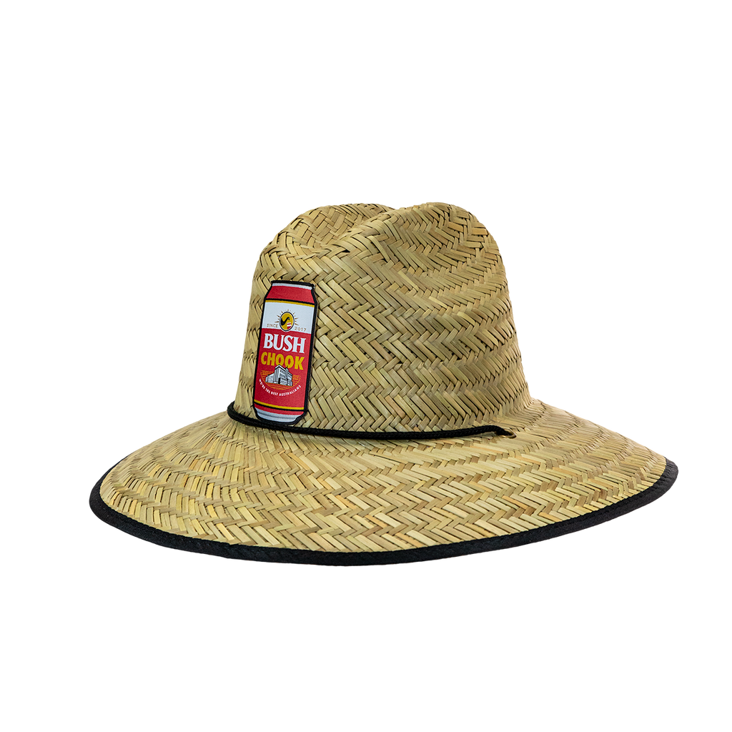 Bush Chook Can Straw Hat