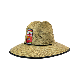 Bush Chook Canned Straw Hat