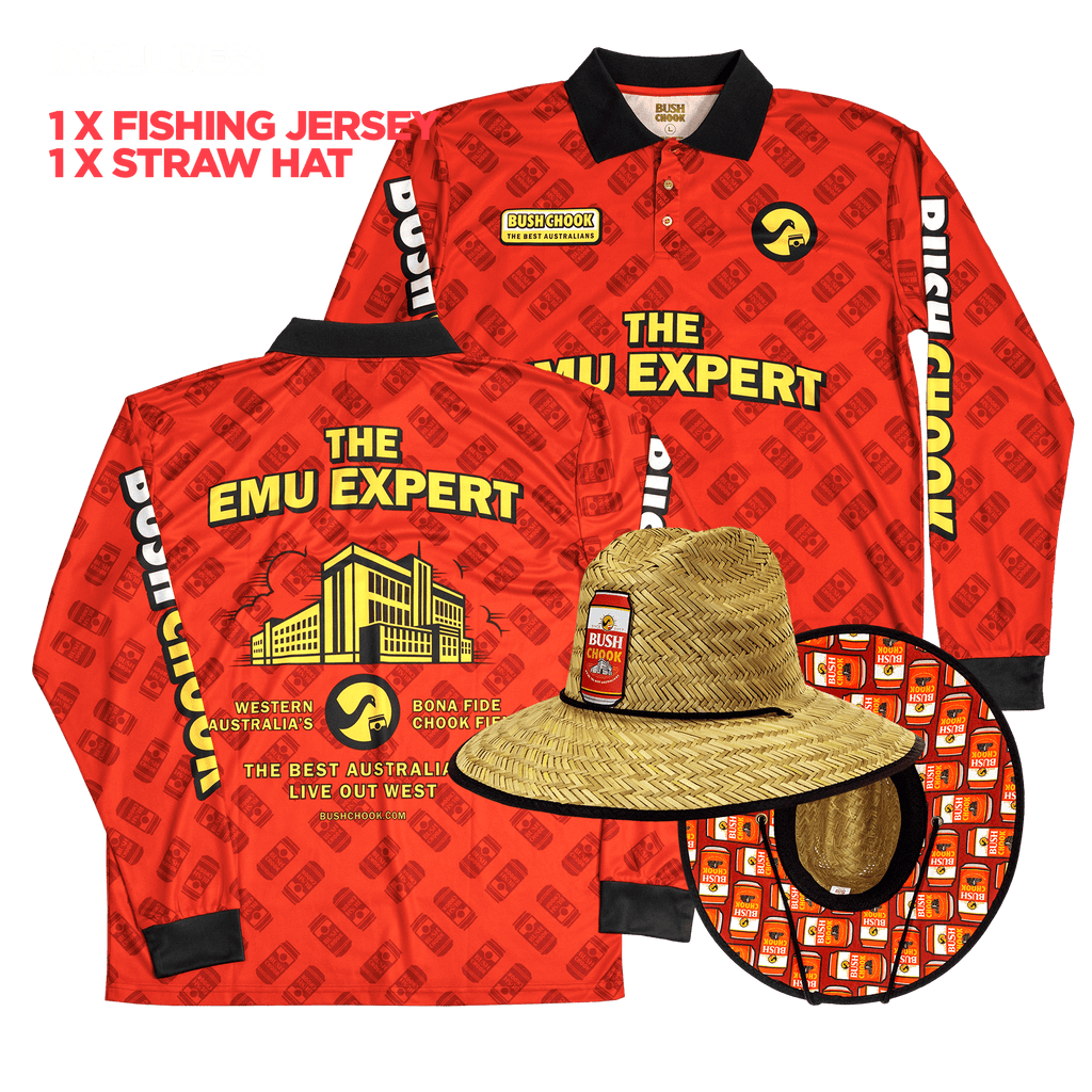 Emu Expert Fishing Jersey Bundle