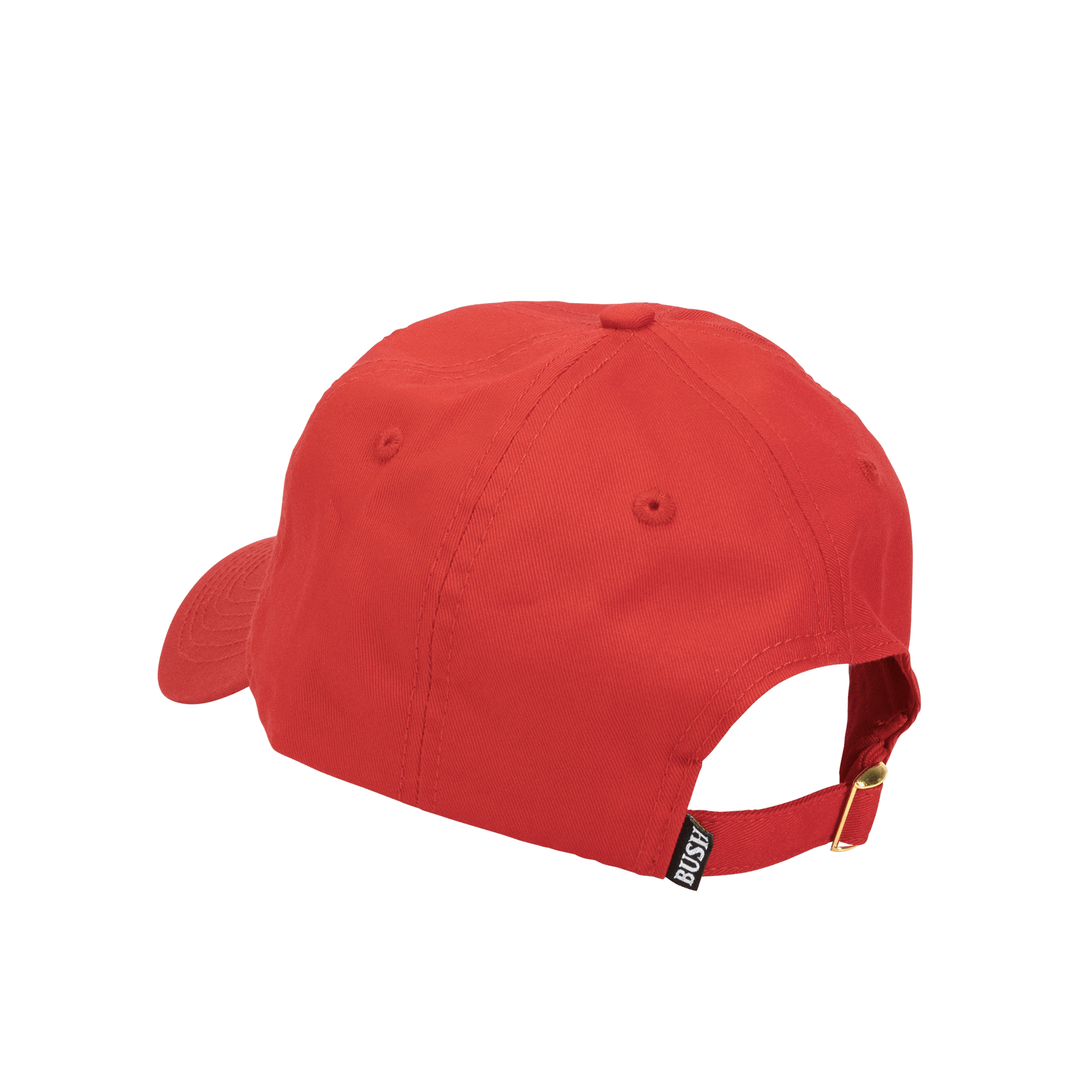 Bush Chook Dad Hat Red