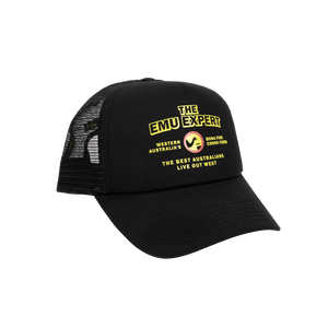 Bush Chook The Expert 2 Trucker - Black