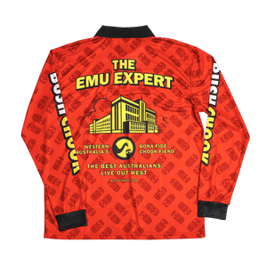 Bush Chook Emu Expert Fishing Jersey