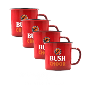 Bush Chook Camping Mug Bundle