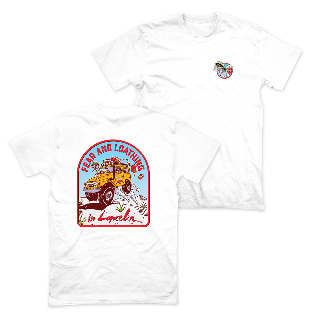 Fear & Loathing Tee White