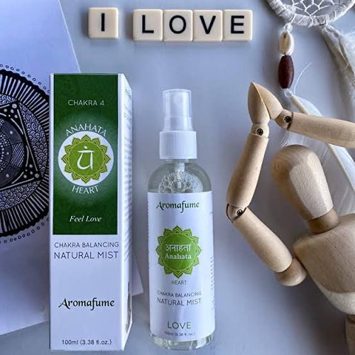 Chakra Balancing Natural Mist Spray - Heart