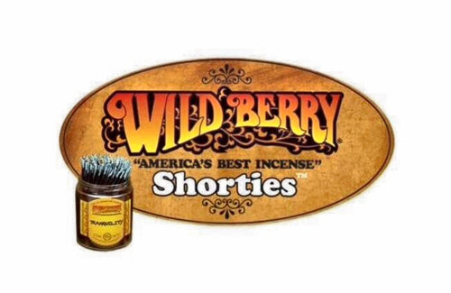 Wild Berry Shorties Incense Sticks - With Mikky