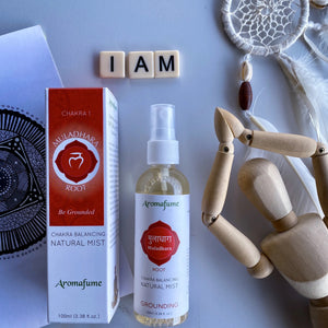 Chakra Balancing Natural Mist Spray - Root