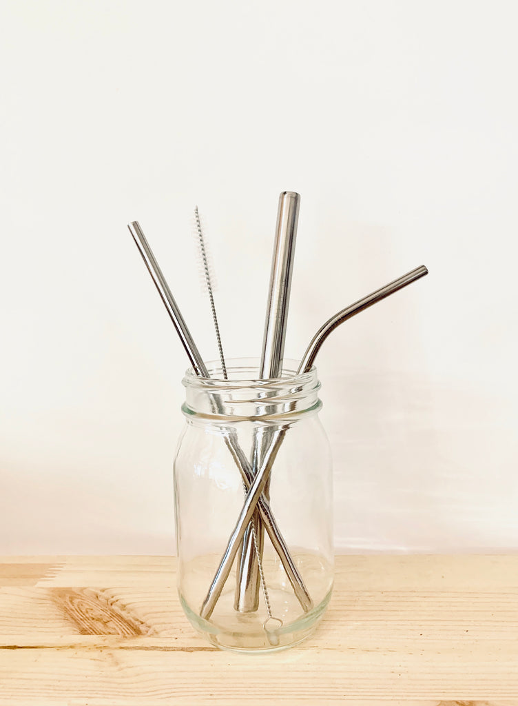 Bent Metal Straw