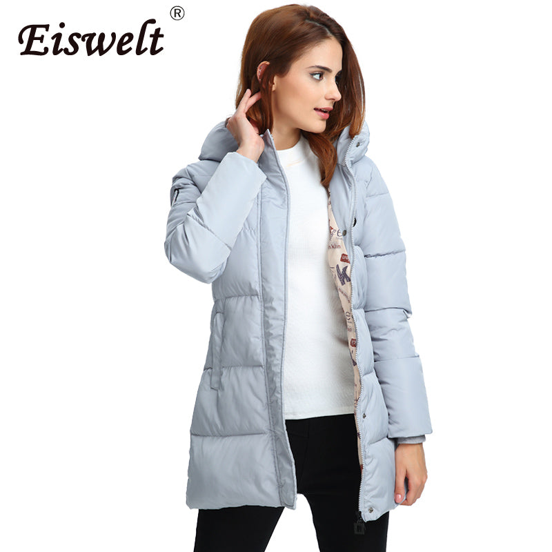 Long Winter Jacket - Slim Coat – Attire Den 338f3d5cd8