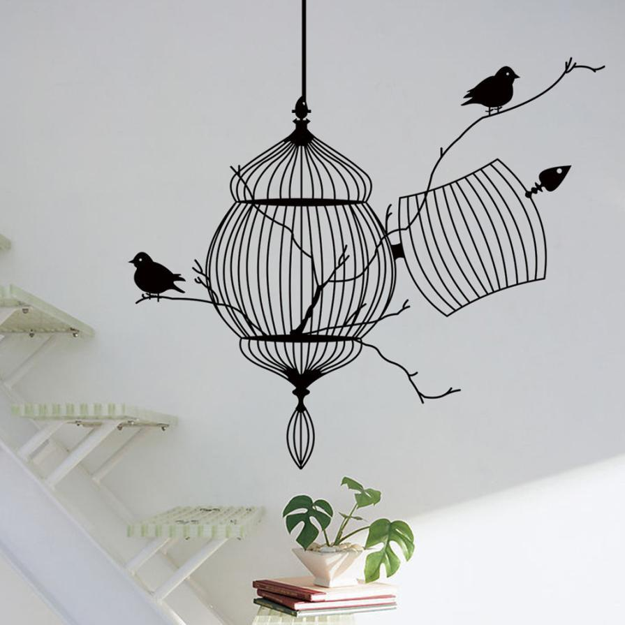 40a4062ba ... New Design Birdcage Chinese Style Wall Art - smarttrendstore ...
