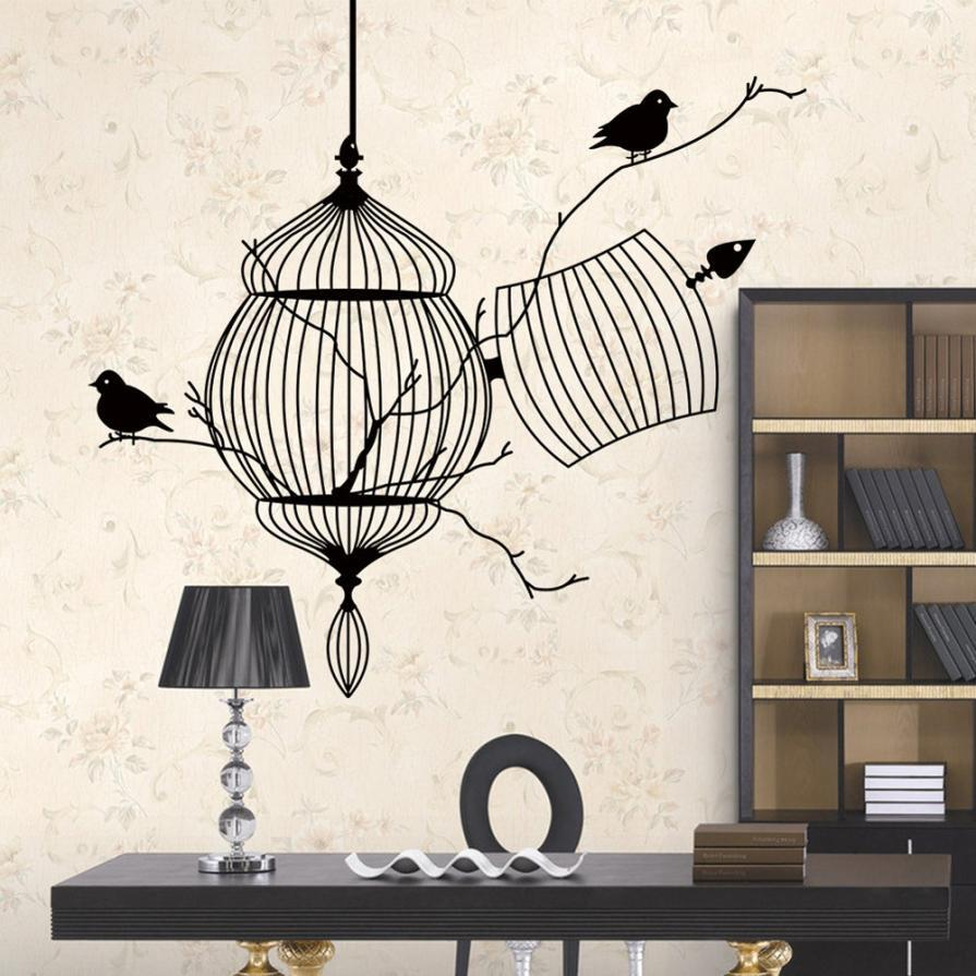 c3a8bed84 ... New Design Birdcage Chinese Style Wall Art - smarttrendstore