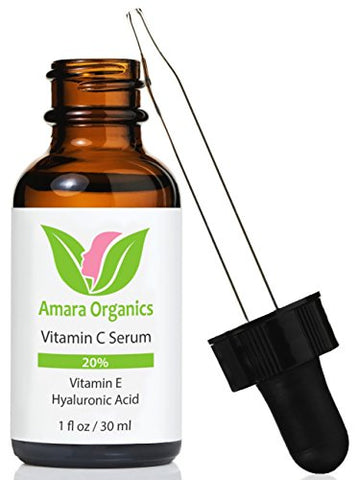 Vitamin C Serum for Face with Hyaluronic Acid & Vitamin E - smarttrendstore