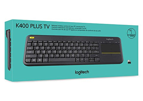 Logitech K400 Plus Wireless Touch Keyboard - smarttrendstore