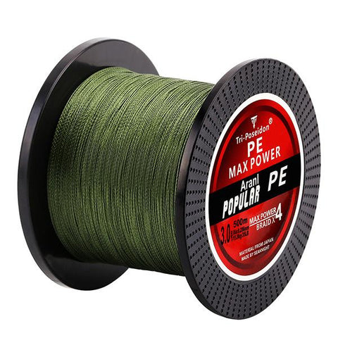 500M Tri-Poseidon Series 4 Strands Super Fishing Line - smarttrendstore