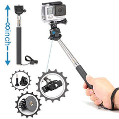 Accessories Kit for AKASO WiFi Action Camera