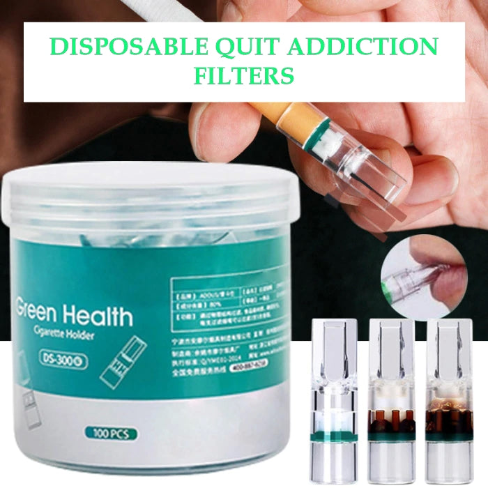 Disposable Quit Addiction Filters - smarttrendstore