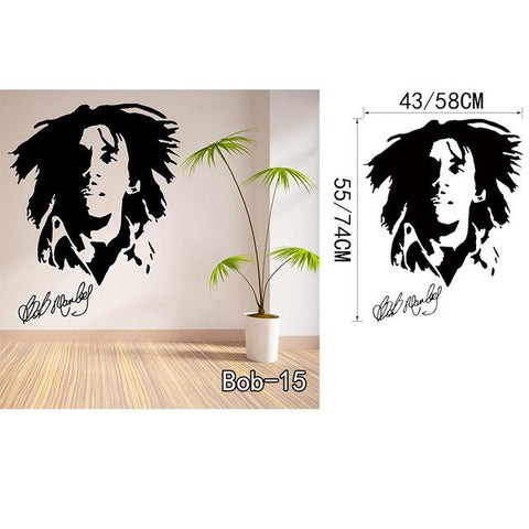 Bob Marley Quotes Wall Sticker - smarttrendstore