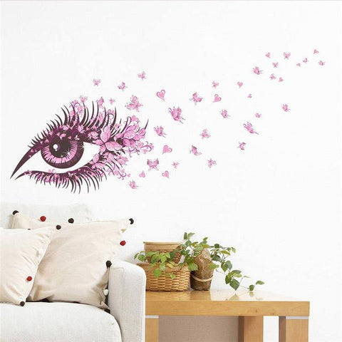 Charming Romantic Fairy Girl Wall Sticker - smarttrendstore