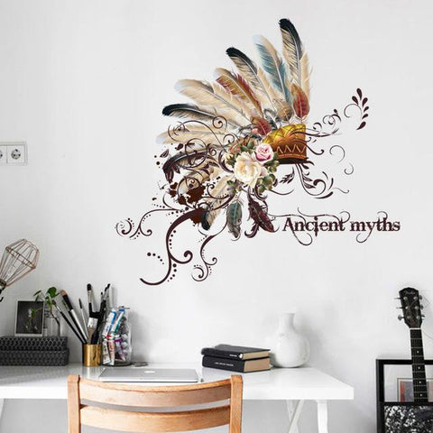 Ancient myths pattern wall sticker - smarttrendstore