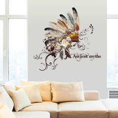 Ancient myths pattern wall sticker