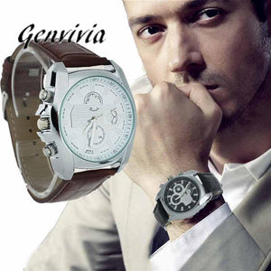 Genvivia Gentleman's Luxury Watch - smarttrendstore