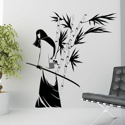 Japan Ninja Poster Vinyl Art Wall Decals - smarttrendstore