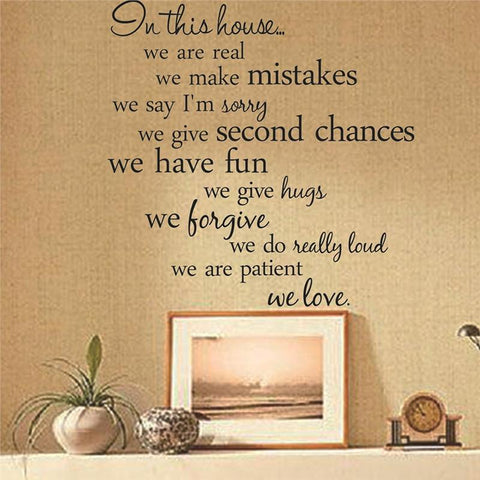 Old English Proverb Quote Wall Decal Sticker! - smarttrendstore