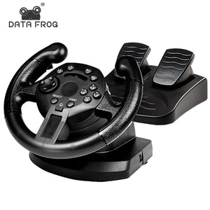 Racing Game Pad 180 Degree Steering Wheel - smarttrendstore