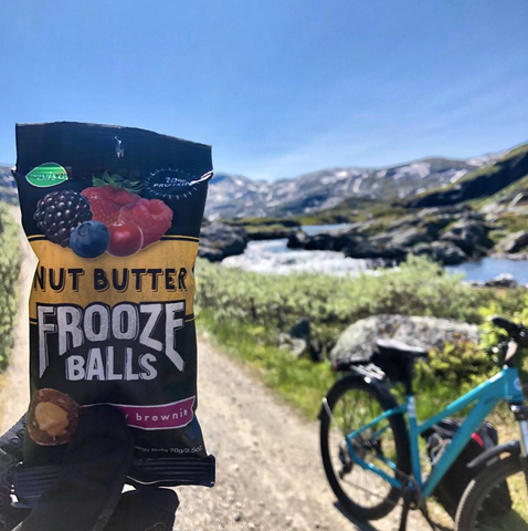 Frooze Balls Non-GMO Plant-based energy snacks