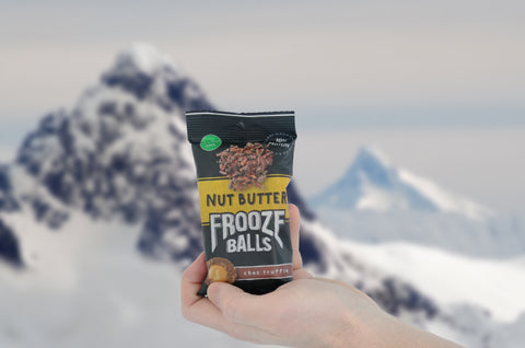 Frooze Balls Make Fast Snacks for Skiing
