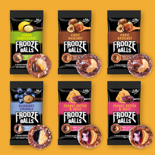 Frooze Balls Double Filled Variety 6 Packs