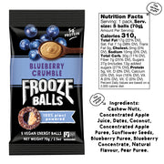 Frooze Balls Blueberry Crumble 8 Packs