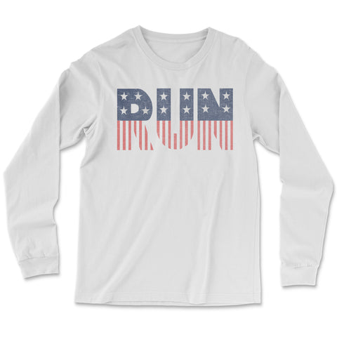 American Flag Run - Premium Blend - Unisex T Shirt