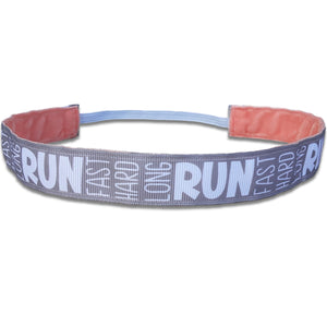Run Fast Hard Long - Bellabandz - Women's Headband