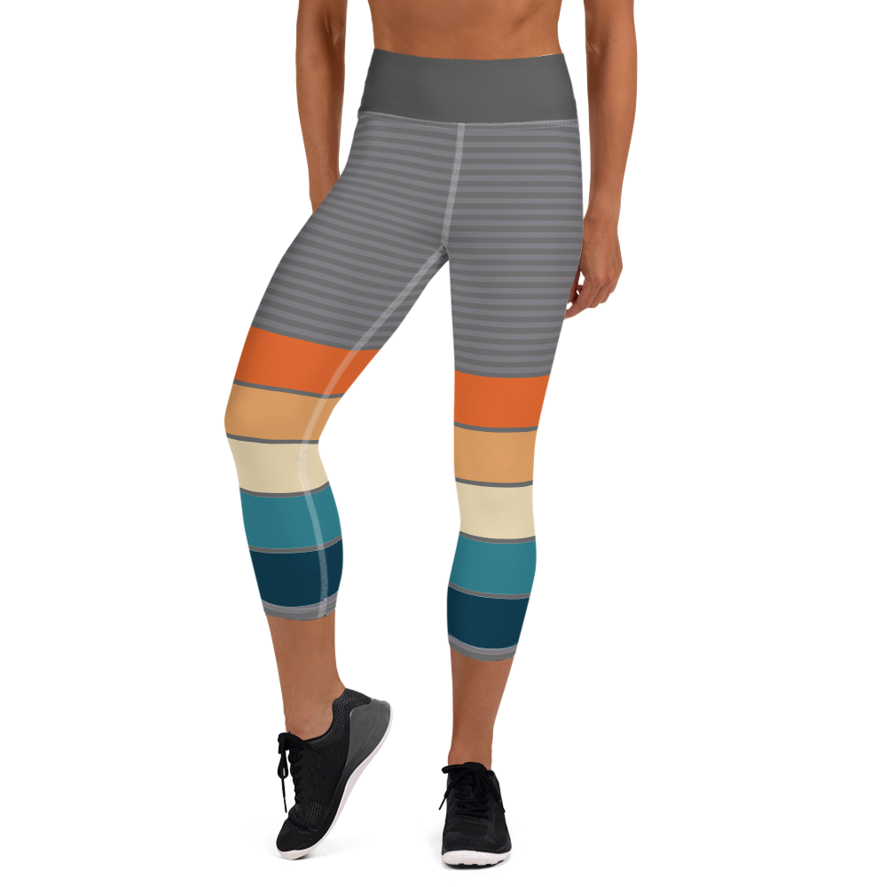 Runnerisms Inspired - High Waisted - Women's Capri Tights
