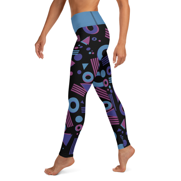 Gotta Run 80's Inspired - High Waisted - Women's Tights