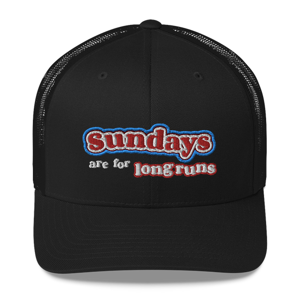 Sundays Are For Long Runs - Trucker Hat