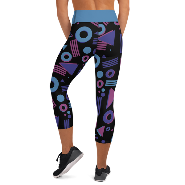 Gotta Run 80's Inspired - High Waisted - Women's Capri Tights