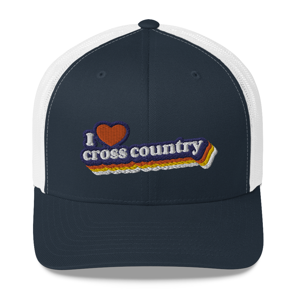 I ❤️ Cross Country - Trucker Hat