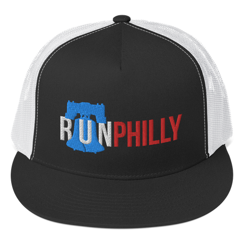 Run Philly Liberty Bell - High Profile Trucker Hat