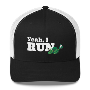 Yeah, I Run Running Turtle - Trucker Hat