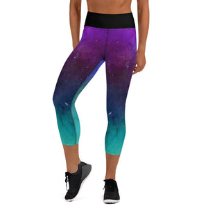 Northern Lights (SRTT) - High Waisted - Women's Capri Tights