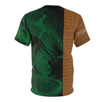 Shamanic.Love - Serpent - Unisex AOP Cut & Sew Tee