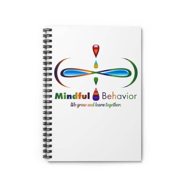 Mindful Behavior Spiral Notebook - Ruled Line
