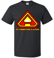 Superpower Autism - single sided - FOL Classic Unisex T-Shirt