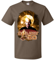 Baldly Go! - Fruit of the Loom Unisex T-Shirt