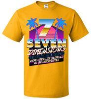 Seven Dimensions: Essential New Retro - FOL Classic Unisex T-Shirt